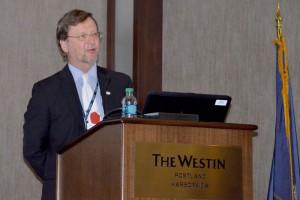 Ted presenting at IABPA Portland 2014