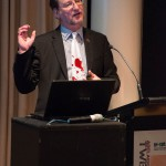 Ted presenting at ANZFSS 2014